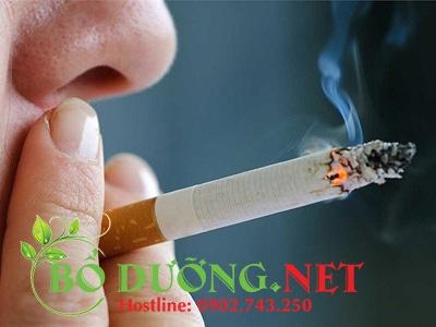 ung thư do hút thuốc